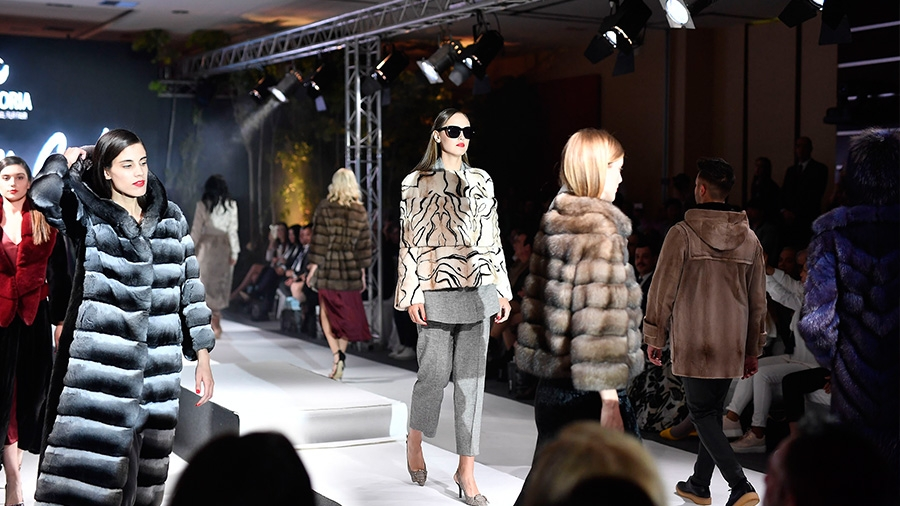 Glamor at the Fashion Gala Show of the 43rd KASTORIA International Fur Fair